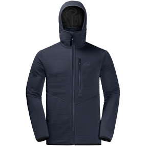 Jack Wolfskin Jack Wolfskin Mens Modesto Hooded Jacket Night Blue