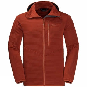 Jack Wolfskin Jack Wolfskin Mens Modesto Hooded Jacket Mexican Pepper