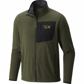 Mountain Hardwear Mountain Hardwear Mens Strecker Lite Jacket Surplus Green
