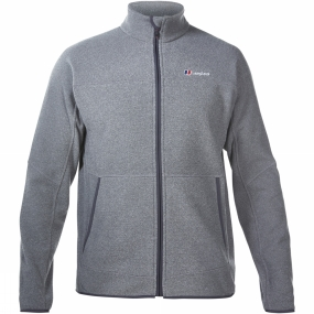 Berghaus Berghaus Mens Stainton Full Zip Fleece Grey Marl