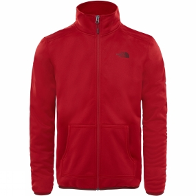 The North Face The North Face Mens Tanken Full Zip Jacket Cardinal Red/Sequoia Red