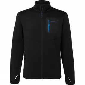 Ayacucho Mens Pacer Stretch Fleece Jacket