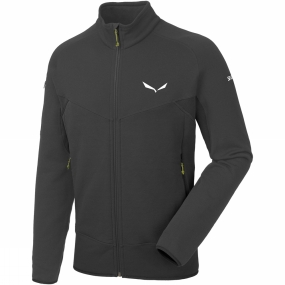 Salewa Salewa Mens Ortles Polartec Full Zip Fleece Black Out