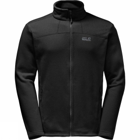 Jack Wolfskin Jack Wolfskin Mens Castle Rock Fleece Black