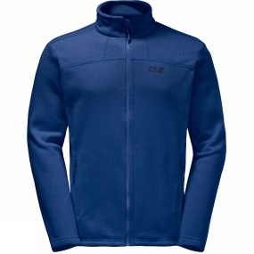 Jack Wolfskin Jack Wolfskin Mens Castle Rock Fleece Royal Blue