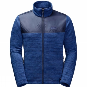 Jack Wolfskin Jack Wolfskin Mens Aquila Fleece Royal Blue