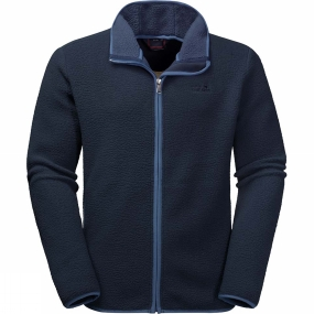 Jack Wolfskin Jack Wolfskin Mens Dawson Fleece Night Blue