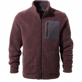 Craghoppers Craghoppers Mens Edvin Jacket Red Wine