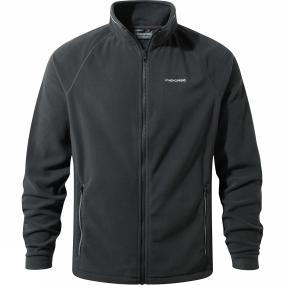 Craghoppers Craghoppers Mens Selby Interactive Fleece Black Pepper