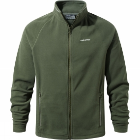 Craghoppers Craghoppers Mens Selby Interactive Fleece Parka Green