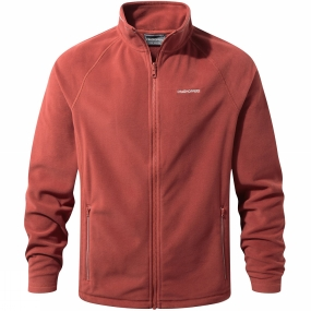 Craghoppers Craghoppers Mens Selby Interactive Fleece Redwood