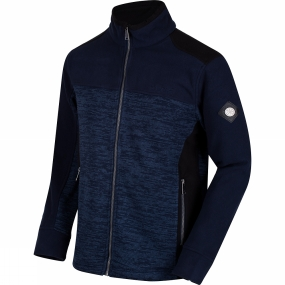 Regatta Mens Zendon Full Zip Fleece