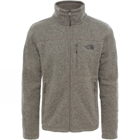 The North Face The North Face Gordon Lyons Full Zip Falcon Brown Heather