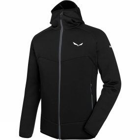 Salewa Salewa Mens Puez 3 PL Full Zip Hoody Black Out