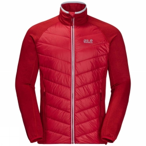 Jack Wolfskin Jack Wolfskin Mens Sutherland Crossing Jacket Indian Red Xt