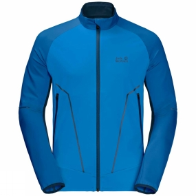 Jack Wolfskin Jack Wolfskin Mens Gravity Trail Jacket Electric Blue