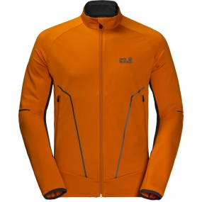 Jack Wolfskin Jack Wolfskin Mens Gravity Trail Jacket Desert Orange