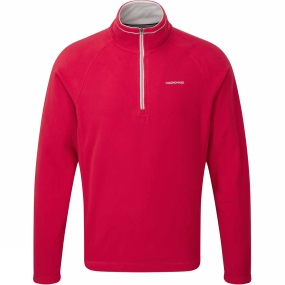 Craghoppers Craghoppers Mens Selby Half Zip Chilli