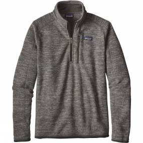 Patagonia Mens Better Sweater 1/4 Zip Fleece