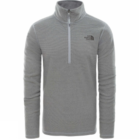 The North Face Mens Textured Cap Rock 1/2 Zip Fleece