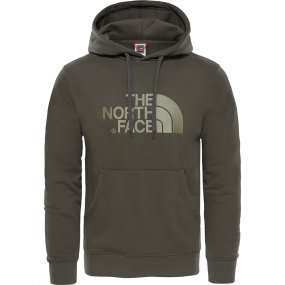 The North Face The North Face Mens Drew Peak Pullover Hoodie New Taupe Green