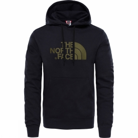 The North Face The North Face Mens Light Drew Peak Pullover Hoodie TNF Black/ New Taupe Green