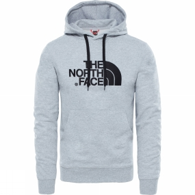 The North Face The North Face Mens Light Drew Peak Pullover Hoodie TNF Light Grey Heather