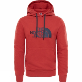 The North Face The North Face Mens Light Drew Peak Pullover Hoodie Bossa Nova Red