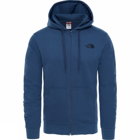 The North Face Mens Open Gate Full Zip Hoodie Light