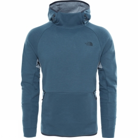 The North Face The North Face Mens Mountain Slacker Pull-On Hoodie Conquer Blue