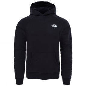 The North Face The North Face Mens Raglan Red Box Hoodie TNF Black