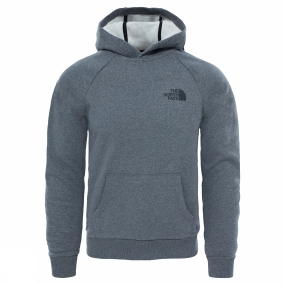 The North Face Mens Raglan Red Box Hoodie