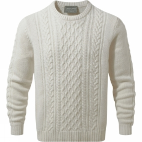 Craghoppers Craghoppers Mens Aron Knit Jumper Calico