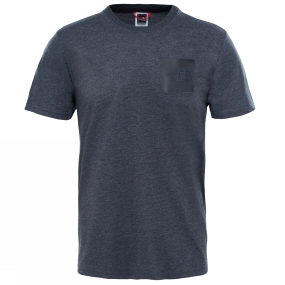 The North Face The North Face Mens Short Sleeve Fine Tee TNF Dark Grey Heather