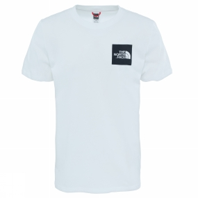 The North Face The North Face Mens Short Sleeve Fine Tee TNF White/ TNF Black
