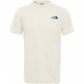 Image of The North Face Men's Short Sleeve North Faces Tee Vintage White/ Vintage White