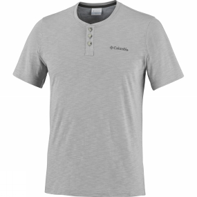 Columbia Mens Lookout Point Short Sleeve Henley