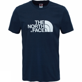 The North Face The North Face Mens Short Sleeve Easy Tee Urban Navy / TNF White
