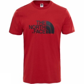 The North Face The North Face Mens Short Sleeve Easy Tee Cardinal Red