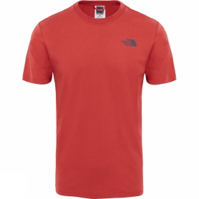 The North Face The North Face Mens Short Sleeve Red Box Tee Bossa Nova Red