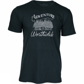 United By Blue Mens Adventure Tee Forest