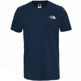 The North Face The North Face Mens Short Sleeve Simple Dome Tee Urban Navy / TNF White