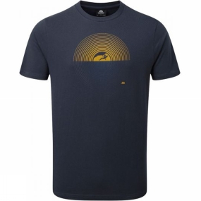 Mountain Equipment Mountain Equipment Mens Prism Tee Ombre Blue