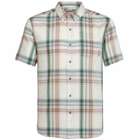 Icebreaker Icebreaker Mens Compass Short Sleeve Shirt Bracken/Scout Plaid