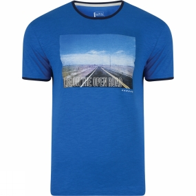 Dare 2 b Dare 2 b Mens Out of Town Tee Oxford Blue