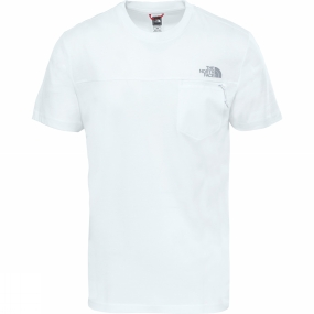 The North Face The North Face Mens Z-Pocket T-Shirt TNF White