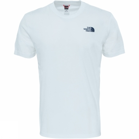 The North Face The North Face Mens Redbox Celebration T-Shirt TNF White/Urban Navy