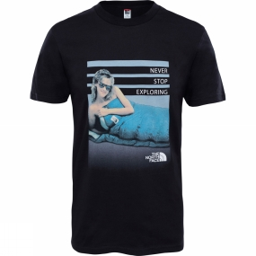 The North Face The North Face Mens Celebration Easy T-Shirt TNF Black