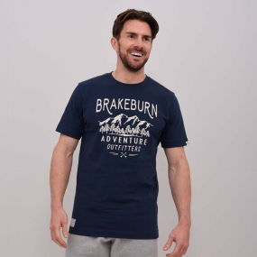 Brakeburn Mens Adventure Outfitters T-Shirt