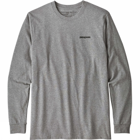 Patagonia P-6 Long-Sleeved P-6 Logo-Tee